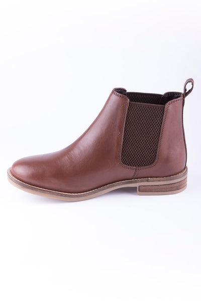 Brown - Ladies Kirby Leather Boots