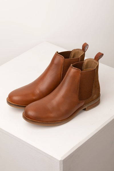 Tan - Ladies Kirby Leather Boots