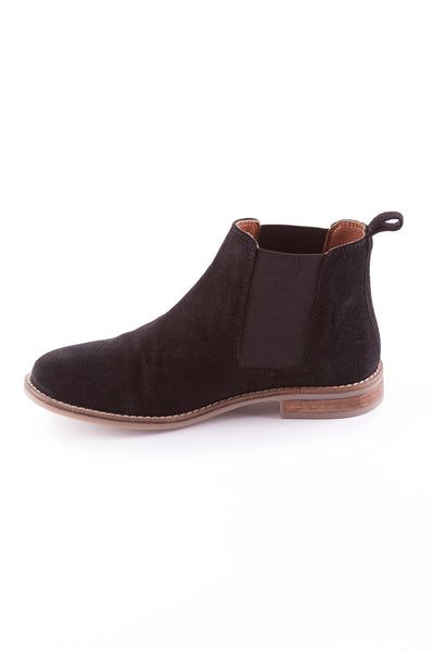 Black - Kirby Suede Chelsea Boot