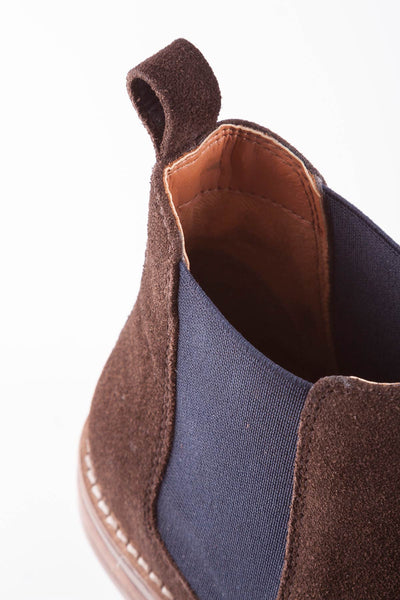 Chocolate - Kirby Suede Chelsea Boot