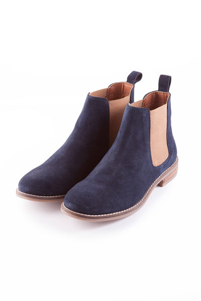 Navy - Kirby Suede Chelsea Boot