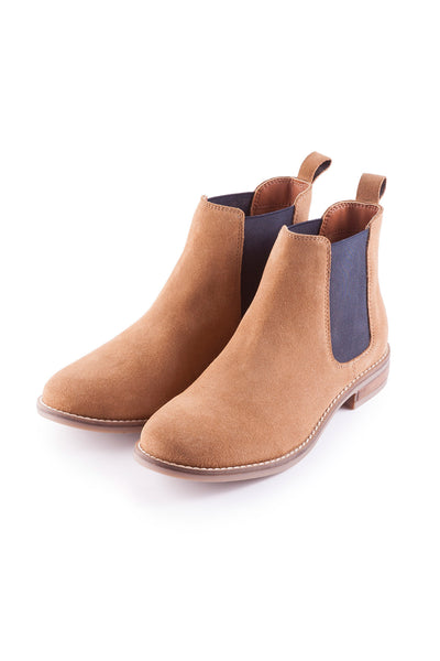 Tan - Kirby Suede Chelsea Boot