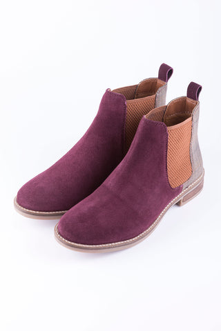 Kirby Suede Chelsea Boots