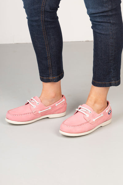 Pink - Ladies Cayton II Deck Shoes