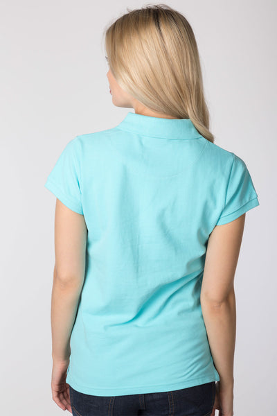 Seafoam - Ladies Classic Polo Shirt