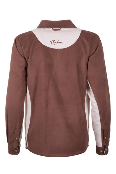 Brown/Stone - Ladies Muston Cord Deckshirt
