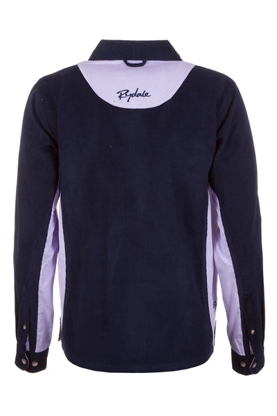 Jblue/Lilac - Ladies Muston Cord Deckshirt
