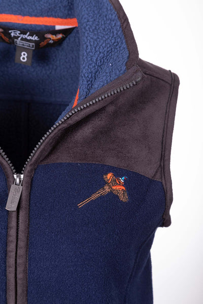 Navy - Ladies Fleece Gilet - Garton III