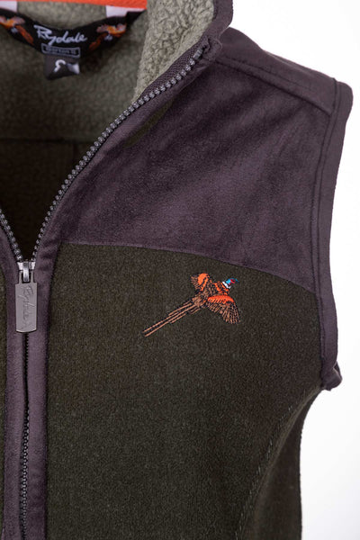 Khaki - Ladies Fleece Gilet - Garton III