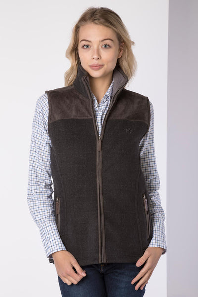 Iron - Ladies Garton II Fleece Gilet Ry Motif