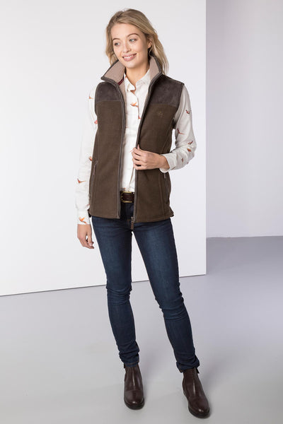 Bark - Ladies Garton II Fleece Gilet Ry Motif