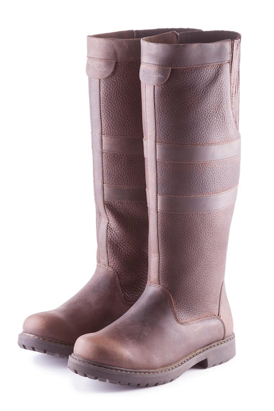 Oak - Haxby Leather Boots