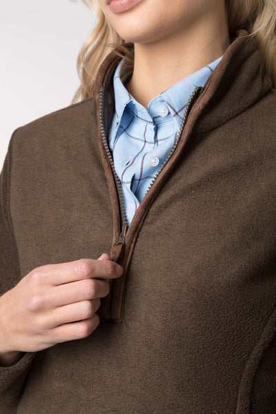 Bark - Ladies Huggate Overhead Fleece