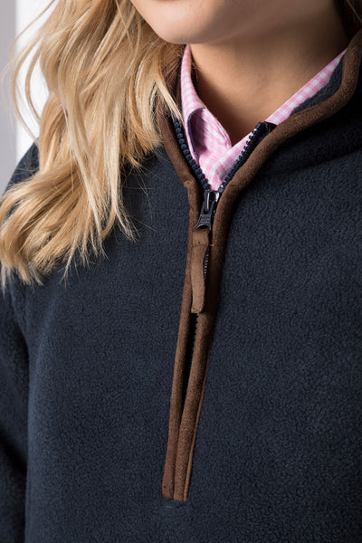 Ink - Ladies Huggate Overhead Fleece