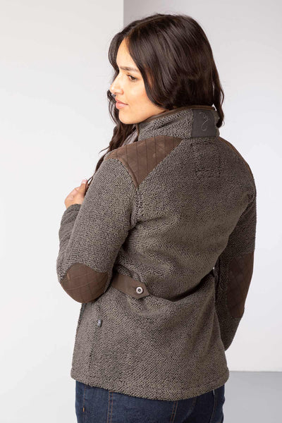 Charcoal - Ladies Kilnsey Fleece Jacket
