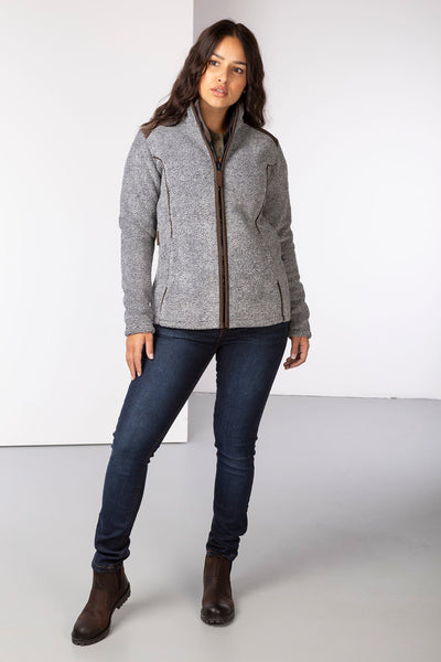 Navy Marl - Ladies Kilnsey Fleece Jacket
