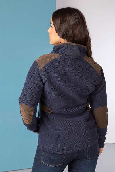 Navy - Ladies Kilnsey Fleece Jacket