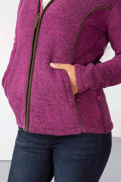 Pink - Ladies Kilnsey Fleece Jacket