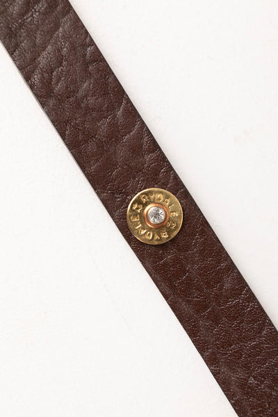 Brown - Ladies Leather Cartridge Belt