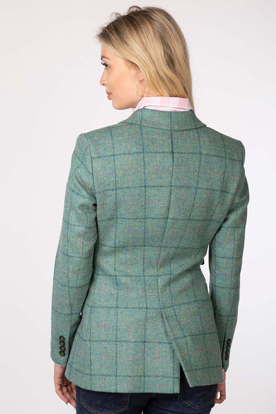 Ella - Ladies Long Tweed Blazer