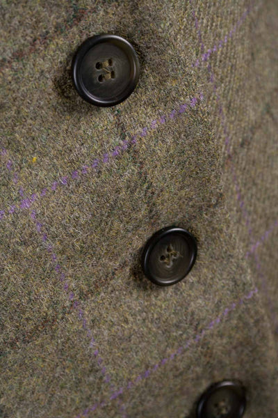 Evie Tweed - Ladies Long Tweed Blazer