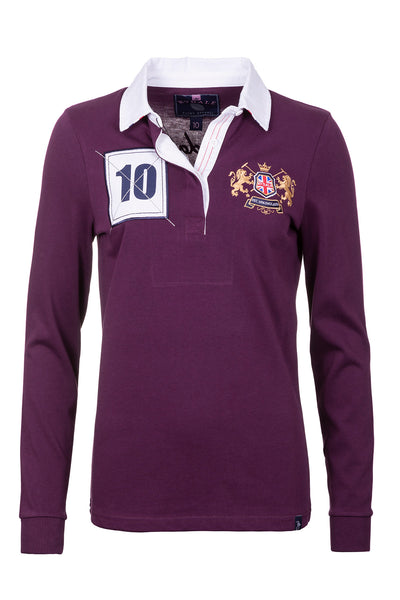 Berry - Ladies Rugby Shirt - Cropton Plain