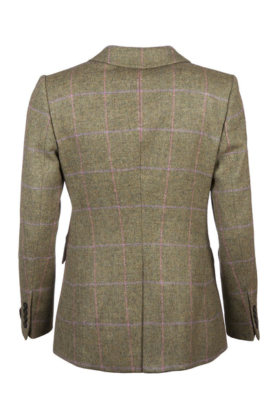 Daisy - Ladies Long Tweed Blazer