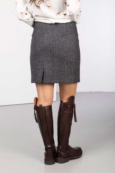Blue Moon - Ladies Limited Edition Tweed Skirt - Kate