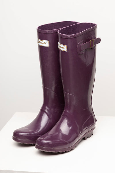 Aubergine - Ladies Wellingtons - Ripon III