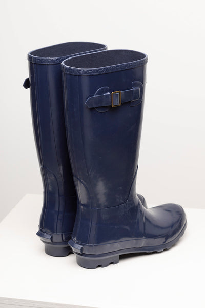 Navy - Ladies Wellingtons - Ripon III