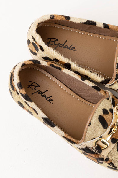 Animal Print - Ladies Wrelton Snaffle Animal Print Loafers