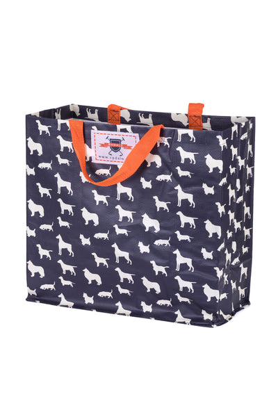 Dogs - Patterned Shopper Bag Large