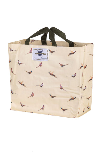 Pheasants - Patterned Shopper Bag Large