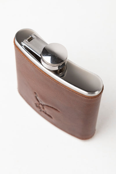 Men's Leather Hip Flask - Dandy