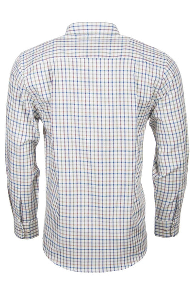 Harvest Light Check - Mens Rydale Long Sleeved Shirts