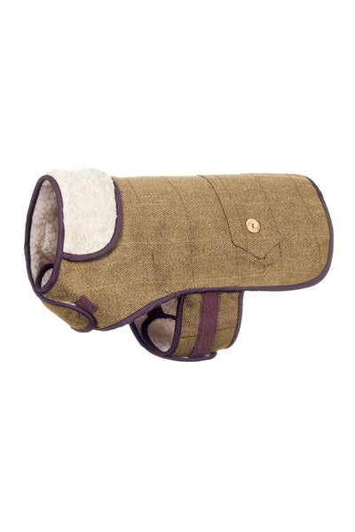 Light Check - Rydale Tweed Dog Coat