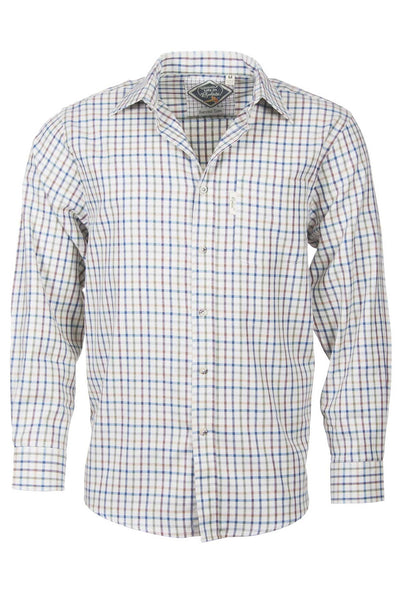 Harvest Light Check - Gentlemans Check Shirt