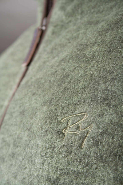 Light Olive - Egton Full Zip Fleece