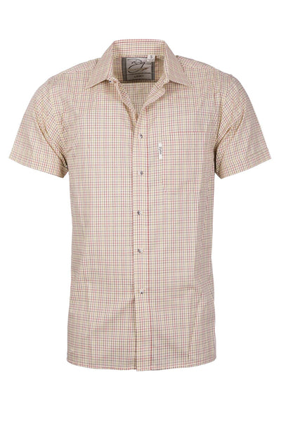 Lisset Gold - Mens Short Sleeve Shirt