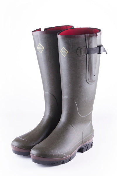 Olive - Lisset Neoprene Lined Wellies