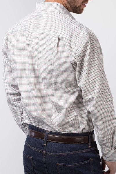 Lisset White - Mens Brushed Cotton Shirts
