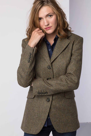 Long Tweed Blazer