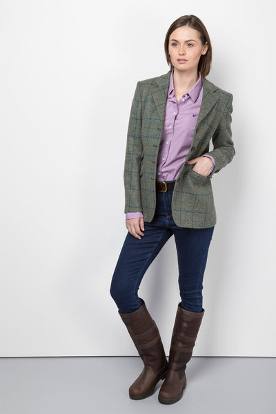 Kate - Ladies Long Tweed Blazer
