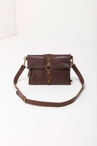 Louisa Leather Cross-Body Bag
