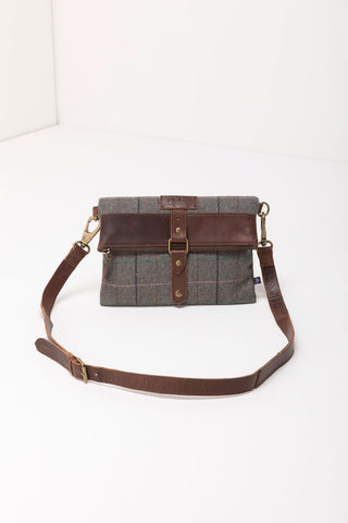 Louisa Tweed Cross-Body Bag