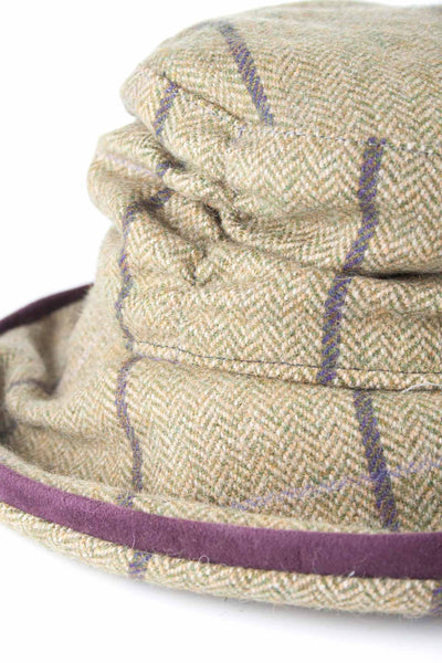 Lucinda - Womens Brimmed Soft Tweed Hats