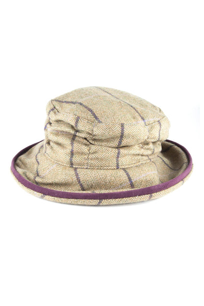Lucinda - Ladies Tweed Dress Hat