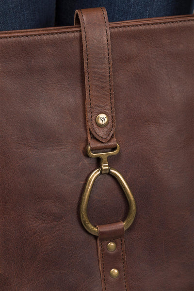 Brown - Lucinda Leather Bag