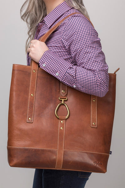Tan - Lucinda Leather Bag