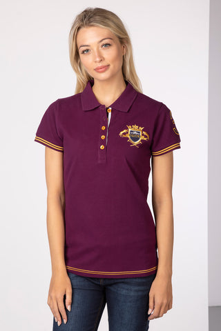 Lucy Emblem Polo Shirt